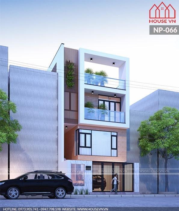 thiết kế kiến trúc xanh cho nhà ống nhà phố năm 2018