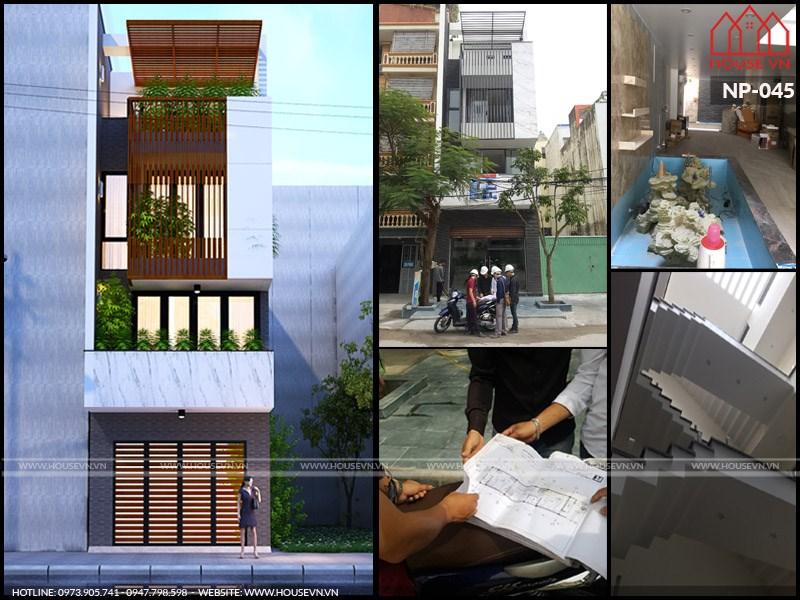công trình xây nhà trọn gói uy tín của housevn trên toàn quốc