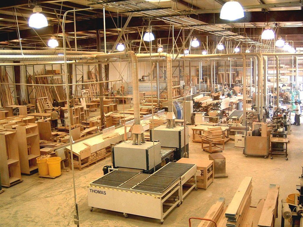 dây chuyền sản xuất nội thất gỗ cao cấp của Housevn