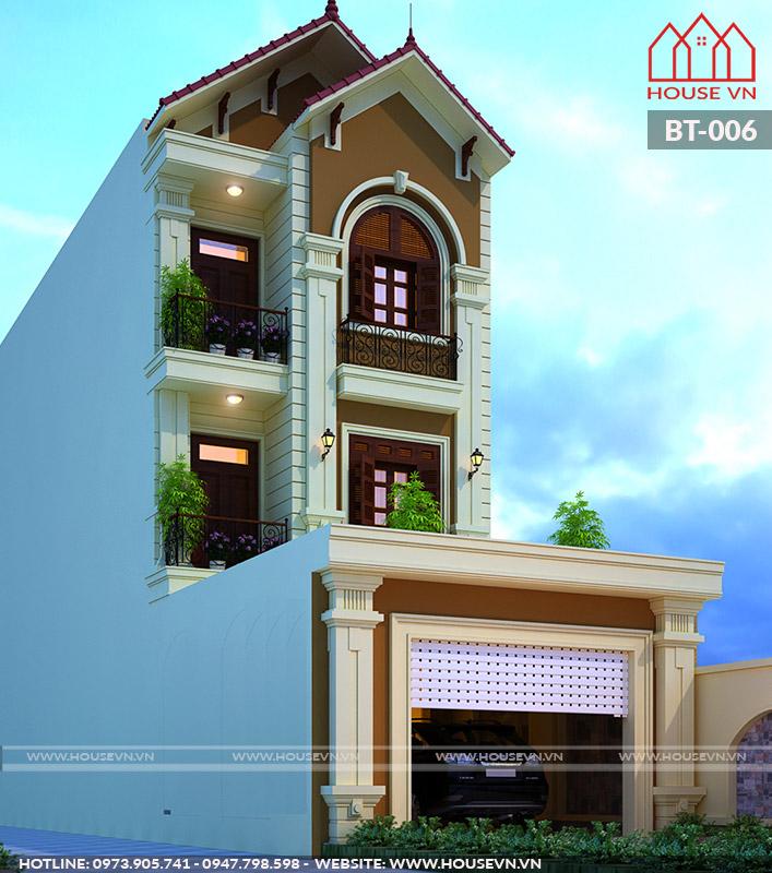 xây nhà trọn gói uy tín của housevn tại uông bí