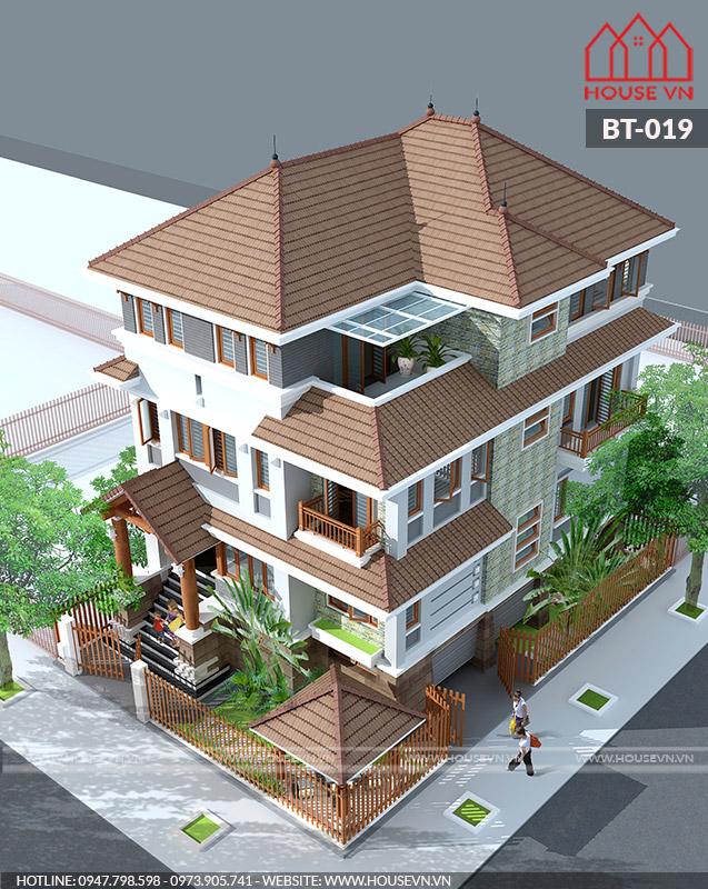 công trình thiết kế biệt thự đẹp tại thủy nguyên của housevn