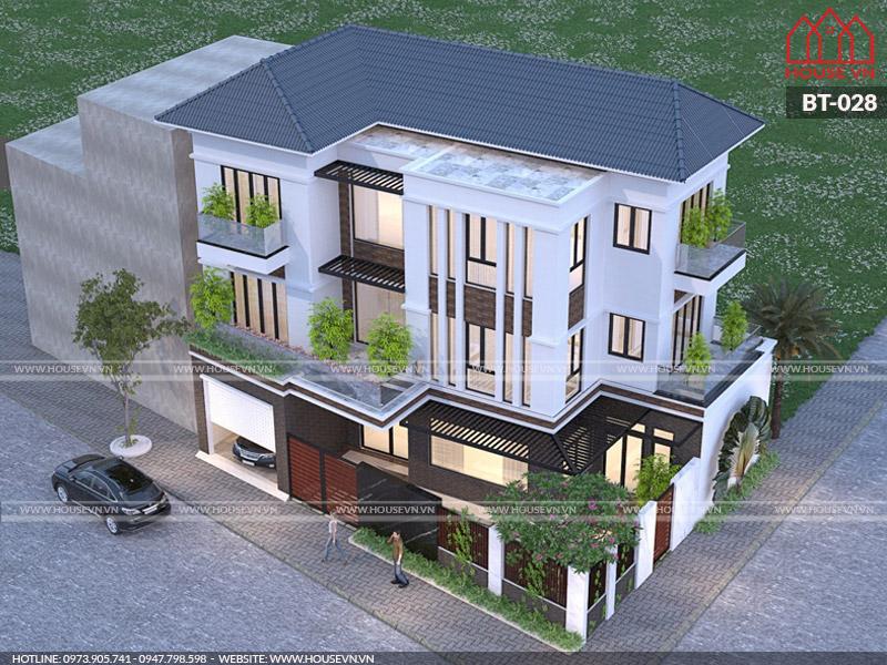 Khám phá những mẫu thiết kế biệt thự hiện đại đẹp năm 2020