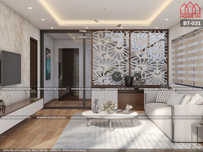 Gợi ý cách lựa chọn nội thất phòng khách trong không gian hẹp