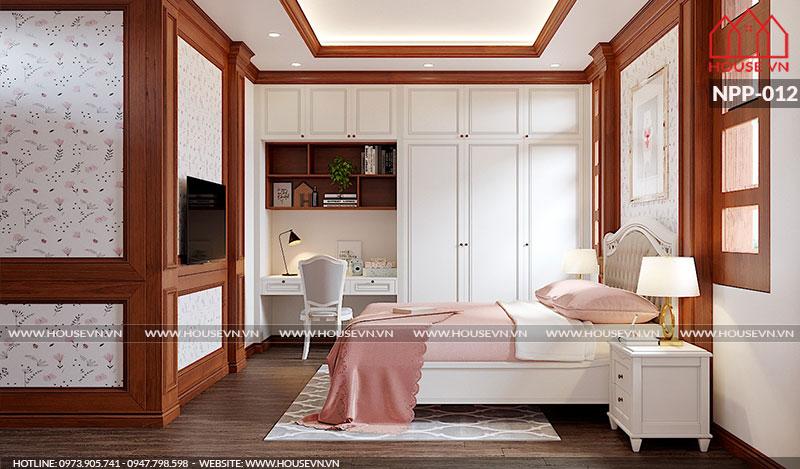 Giường ngủ không được đặt phía trên bếp hoặc ban thờ, không đặt giường ngủ dưới xà nhà, dầm nhà, quạt trần, đèn chùm, vật trang trí có góc nhọn gây sát khí.