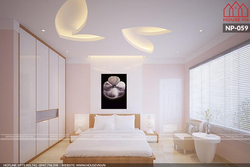 thiết kế phòng ngủ kiểu hiện đại giá thi công rẻ