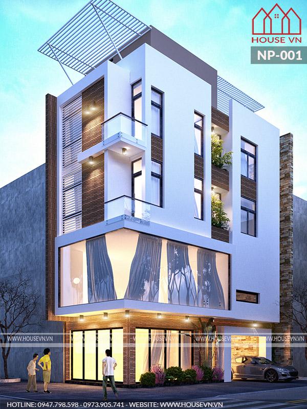 Nhà phố mặt tiền 5m2 tại Hải Phòng