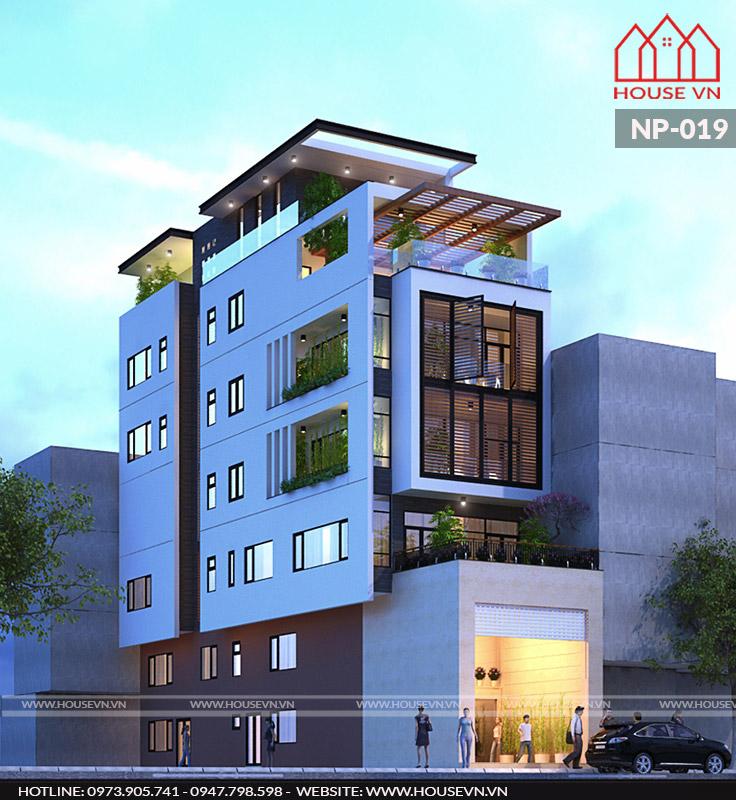 thiết kế nhà phố kết hợp kinh doanh đẹp và ấn tượng