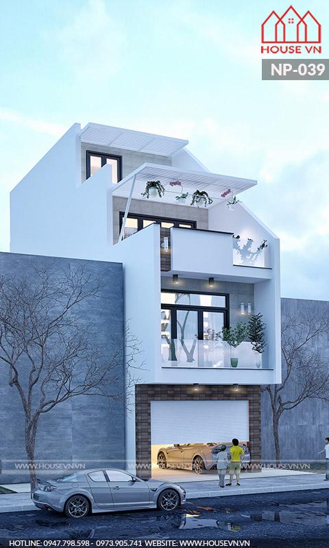 Lối kiến trúc độc đáo mang đậm phong cách hiện đại, trẻ trung và vô cùng tinh tế.