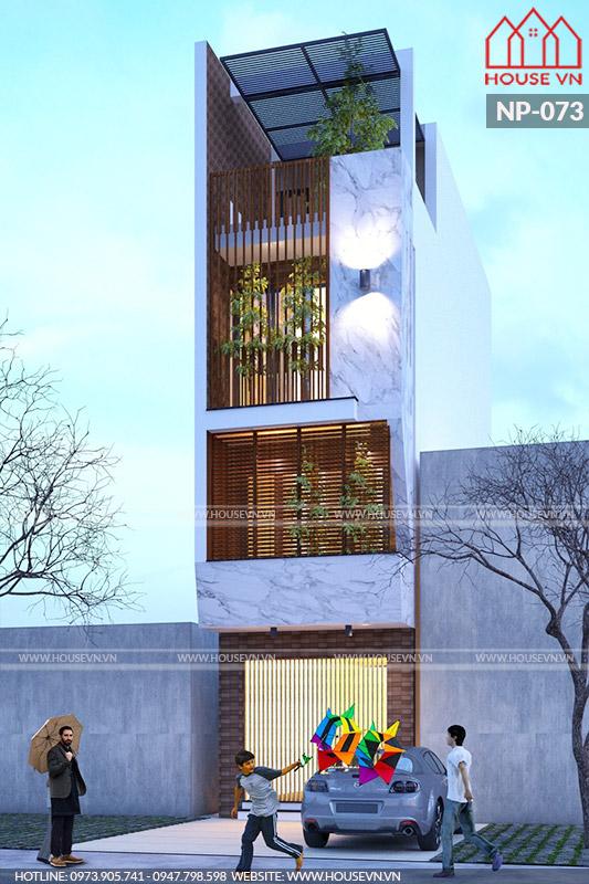 Ý tưởng thiết kế nhà ống hiện đại đẹp năm 2020