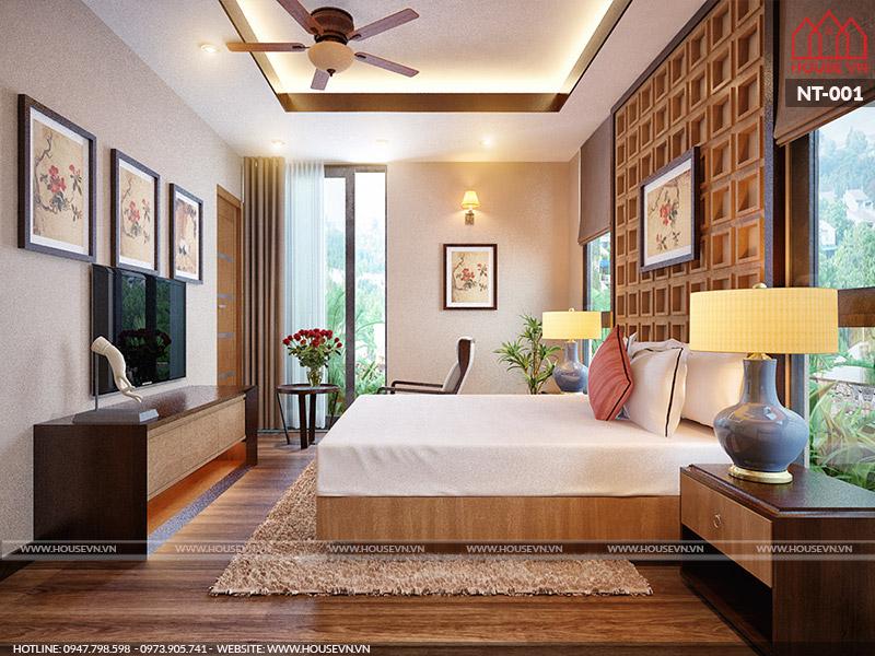 nội thất phòng ngủ hiện đại có giá thành thi công tiết kiệm