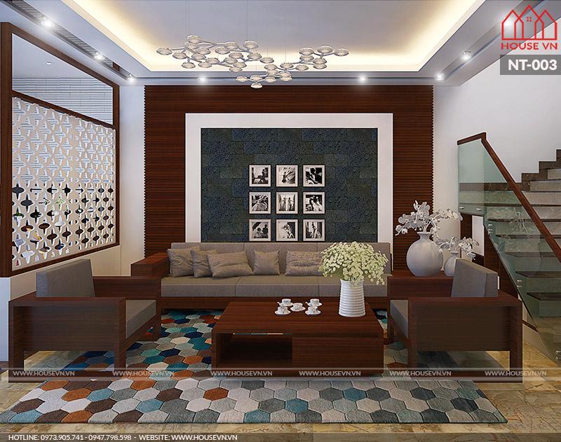 nội thất phòng khách hiện đại đẹp năm 2018