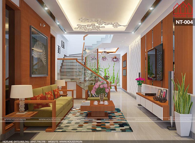 thiết kế nội thất phòng khách hiện đại đẹp