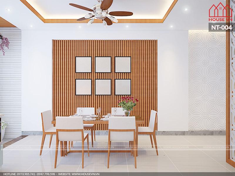 nội thất phòng ăn hiện đại đẹp tại Hải Phòng