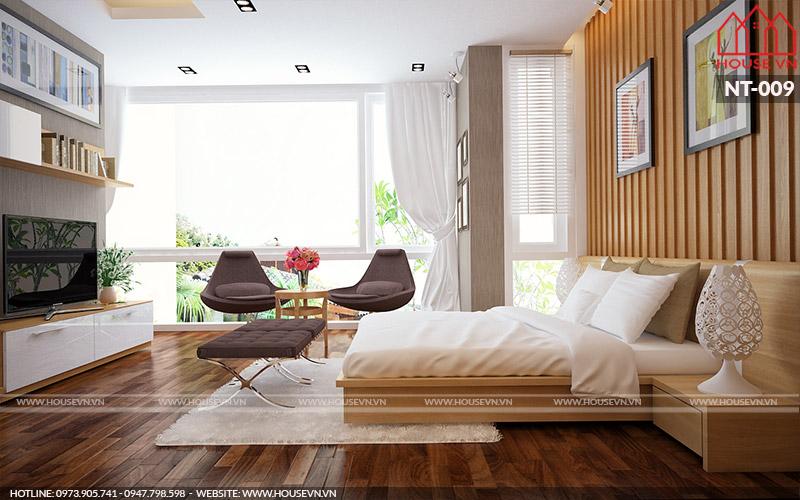 nội thất phòng ngủ vợ chồng gia chủ đẹp và tiện nghi
