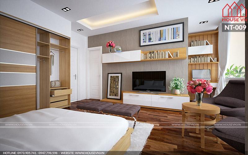 trang trí nội thất phòng ngủ hiện đại đẹp