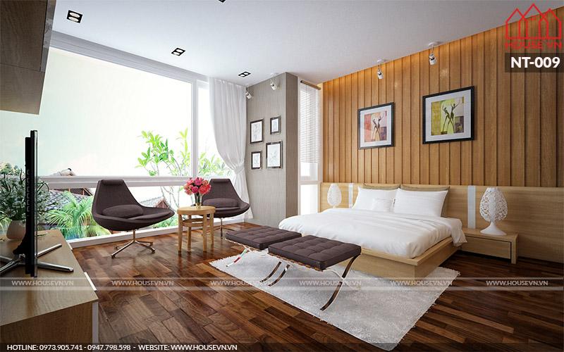 thiết kế nội thất phòng ngủ đẹp và tiện nghi