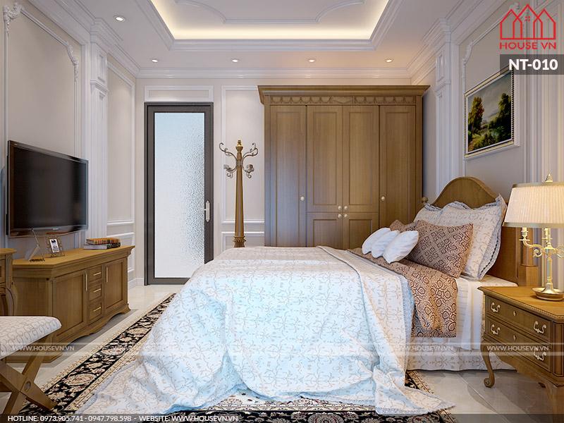 mẫu phòng ngủ kiểu pháp đẹp dành cho hai người