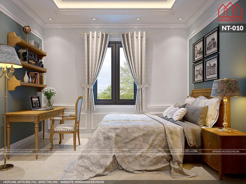 phòng ngủ kiểu pháp đẹp dành cho hai người