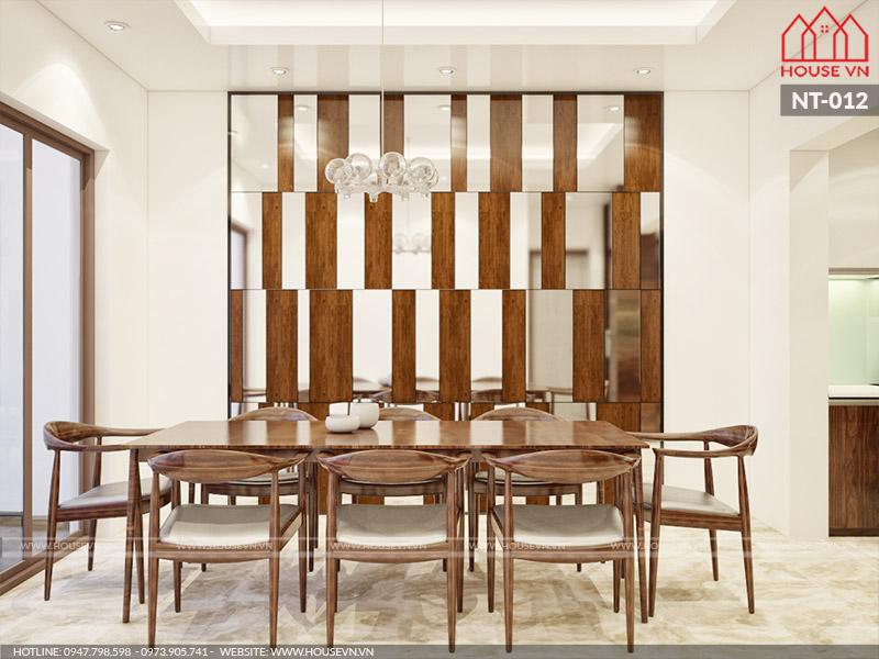 mẫu phòng ăn bằng gỗ đẹp và cao cấp nhất