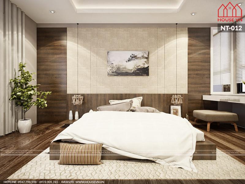 mẫu nội thất phòng ngủ hiện đại ấn tượng 2017