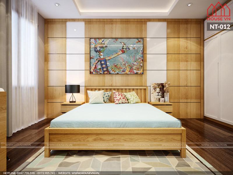 phòng ngủ dành cho con gái với diện tích 15m2