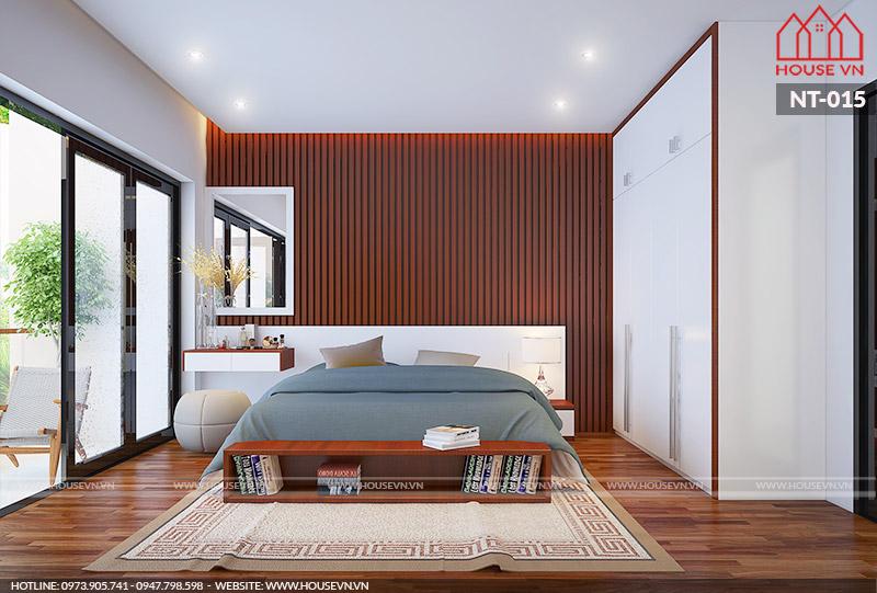 nội thất phòng ngủ nhà ống hiện đại đẹp