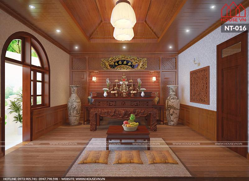 nội thất phòng thờ hợp phong thủy