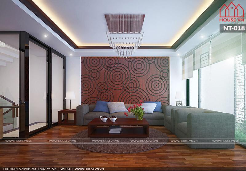 thiết kế nội thất phòng khách hiện đại đẹp nhất