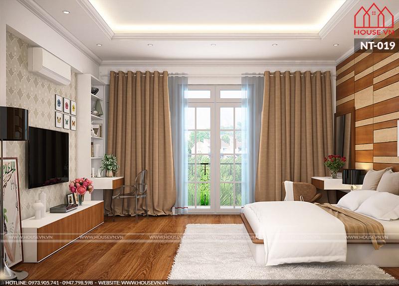 phòng ngủ hiện đại dành cho hai người