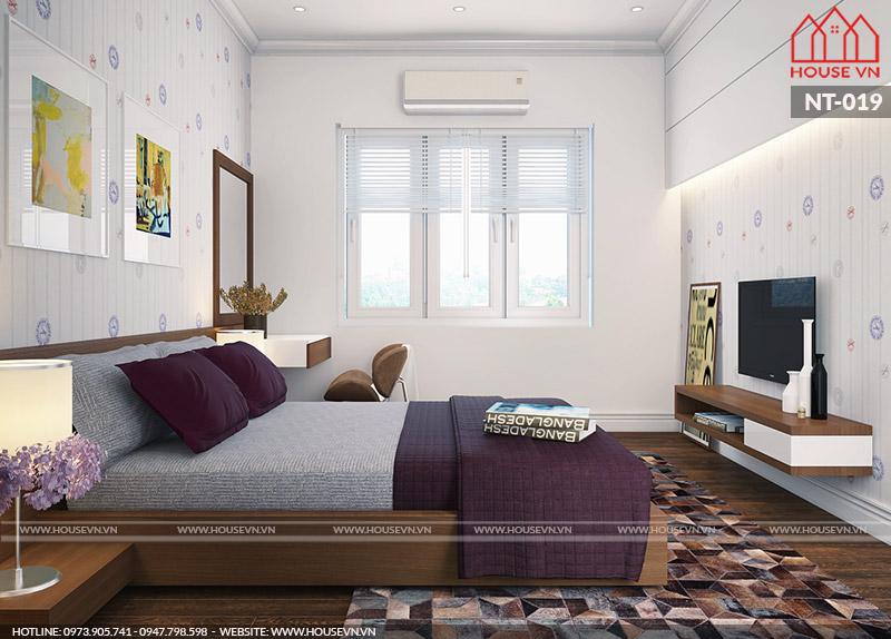 phòng ngủ dành cho khách tới chơi nhà