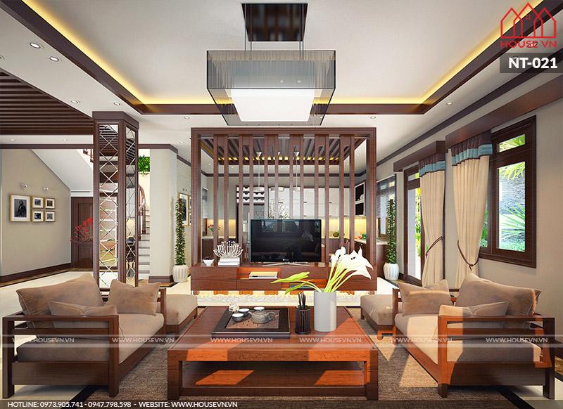nội thất phòng khách biệt thự hiện đại đẹp