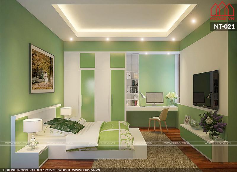 thiết kế phòng ngủ hiện đại có giá rẻ nhất hải phòng