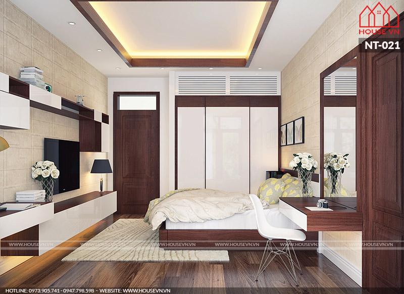 nội thất phòng ngủ đẹp phong cách hiện đại