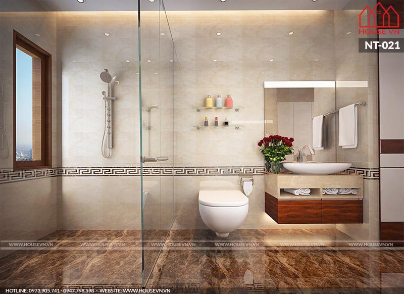 mẫu phòng tắm wc hiện đại