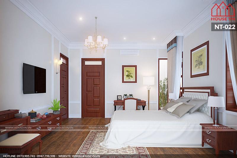 phòng ngủ kiểu pháp đơn giản mà đẹp
