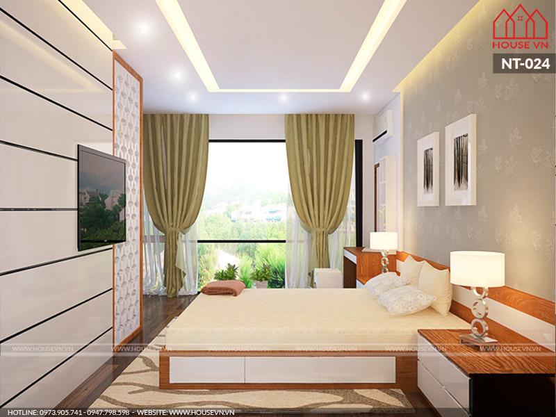 Phương án thiết kế nội thất phòng ngủ nhà phố tại Hải Phòng luôn hướng đến sự thông thoáng cân gió cân sáng hợp lý