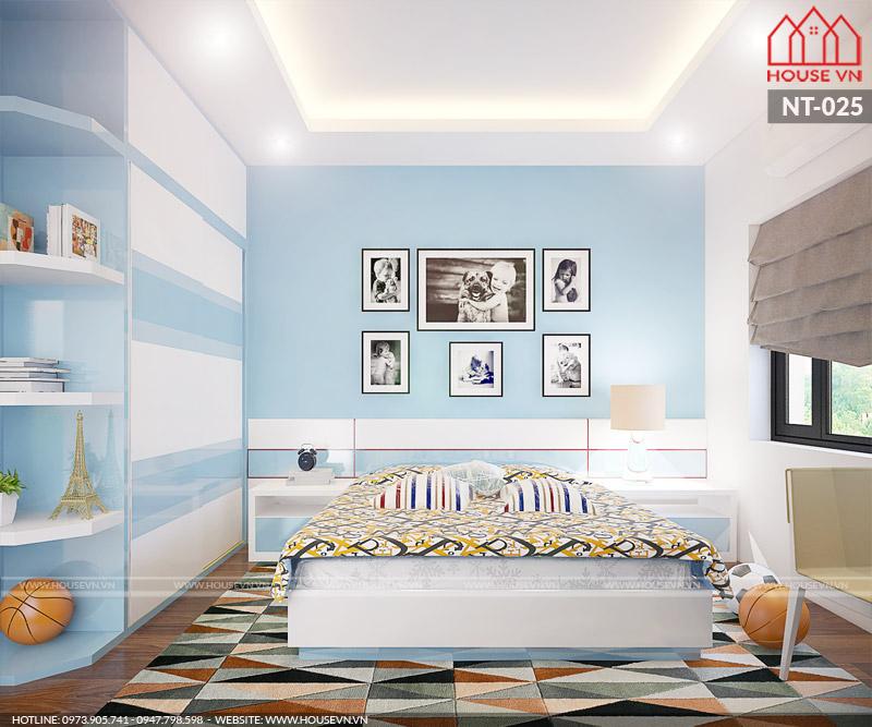 nội thất phòng ngủ con trai đẹp và cá tính
