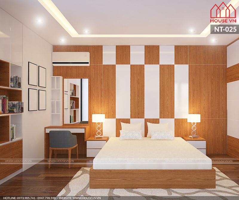 thiết kế phòng ngủ hiện đại đẹp cho biệt thự