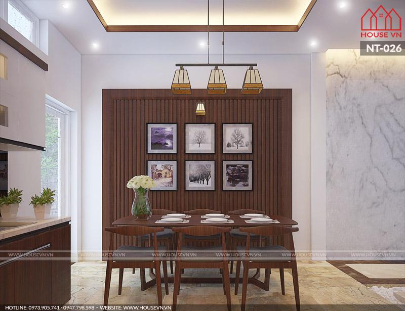 mẫu nội thất phòng ăn đẹp và sang trọng