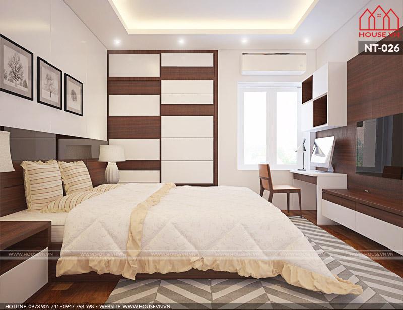 thiết kế phòng ngủ dành cho khách