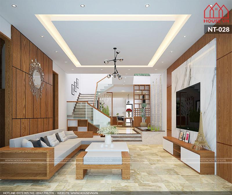 thiết kế nội thất phòng khách cho biệt thự đẹp