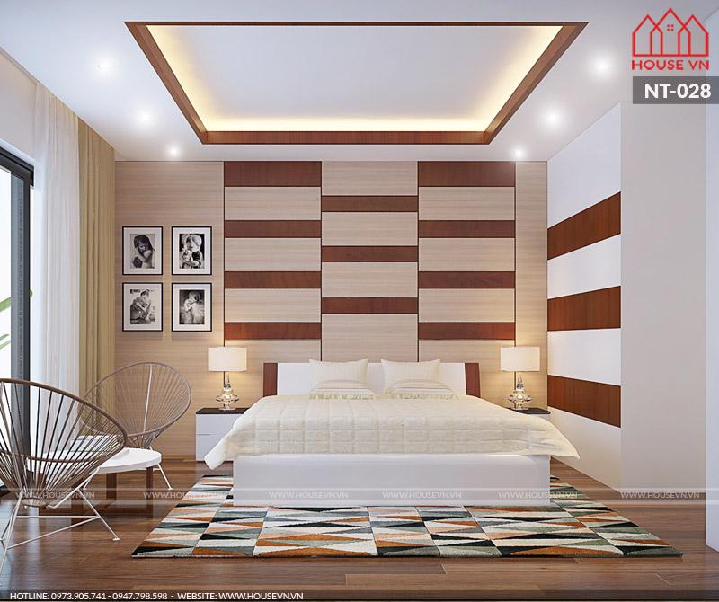 mẫu phòng ngủ đẹp dành cho hai người sinh sống
