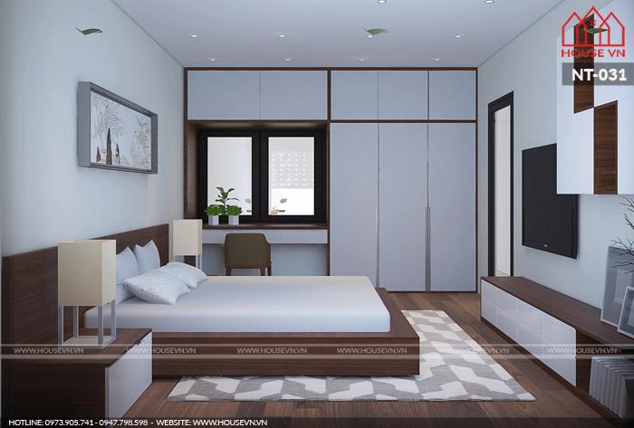 mẫu nội thất phòng ngủ hiện đại xu hướng năm 2018