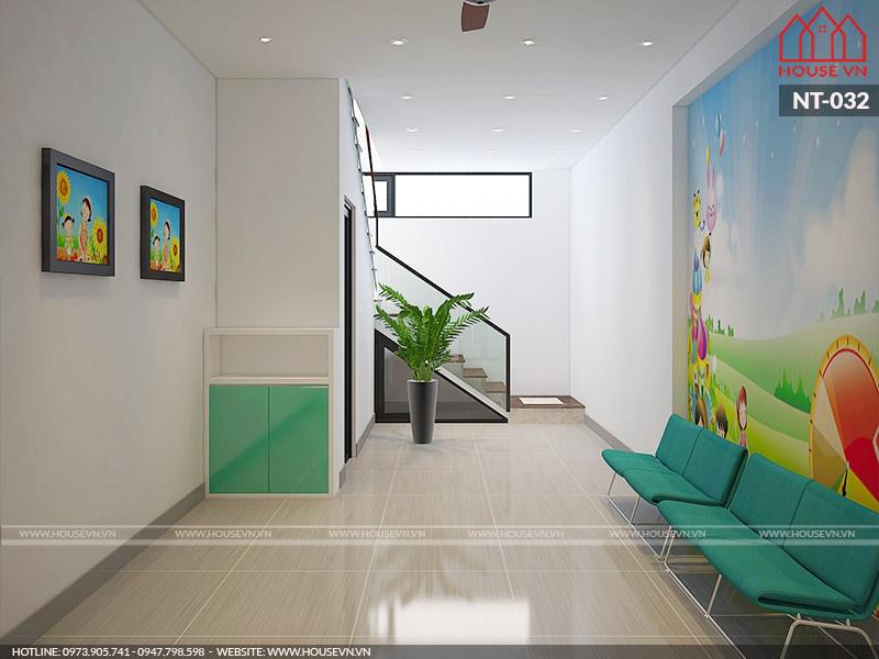nội thất phòng khám hiện đại dành cho nhà phố tại hải phòng