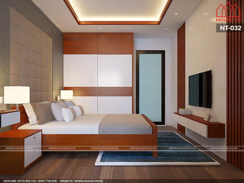 không gian phòng ngủ bằng gỗ đẹp, đơn giản nhất