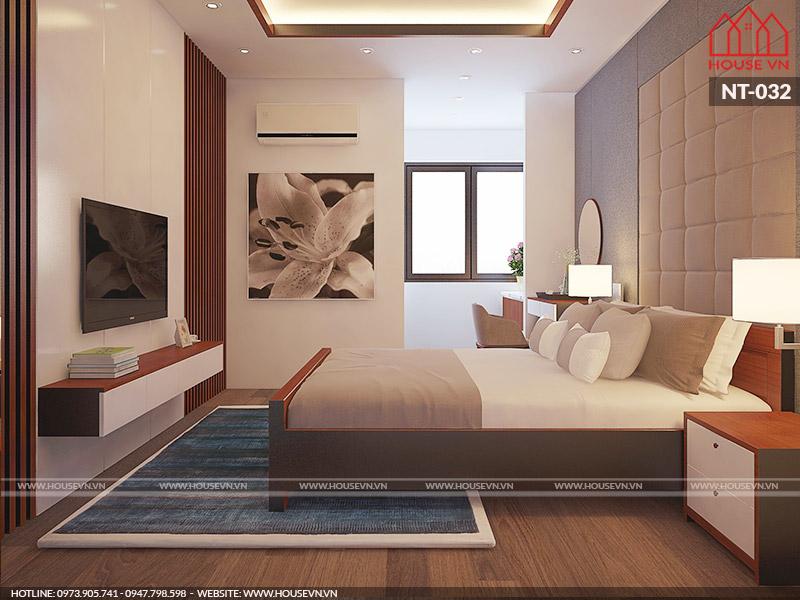 mẫu phòng ngủ hiện đại diện tích hợp lý