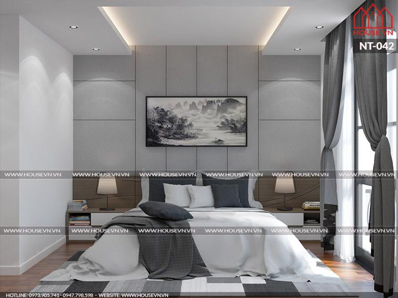 Thiết kế nội thất phòng ngủ con trai cho biệt thự Venice Vinhomes Imperia tại Hải Phòng