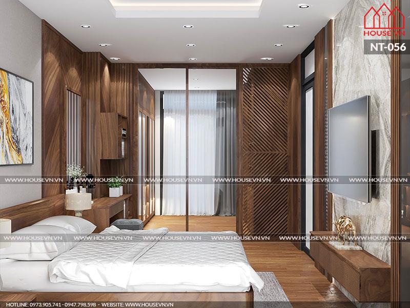 Tham khảo mẫu thiết kế nội thất phòng ngủ đẹp với màu sắc trẻ trung cá tính