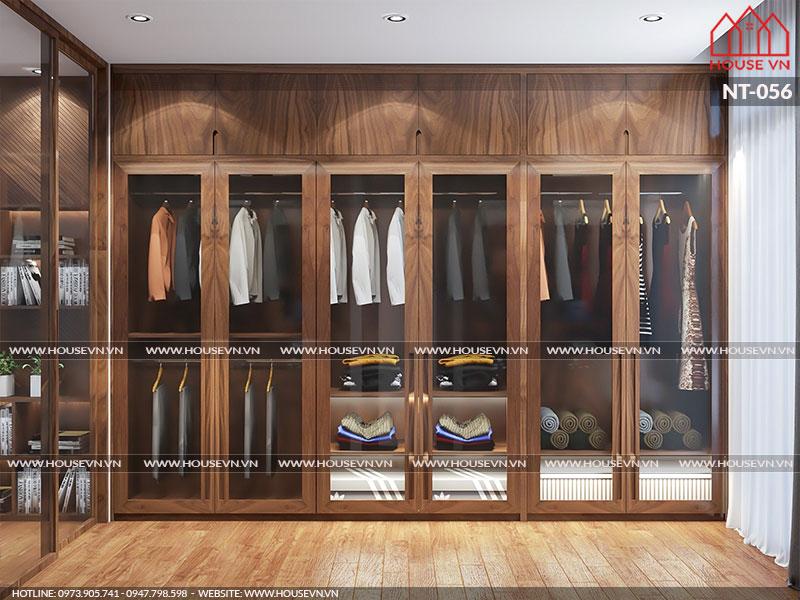 Mẫu tủ quần áo lớn được chủ đầu tư ưng ý lựa chọn