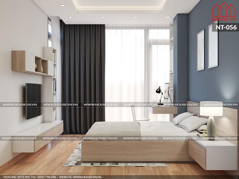 Giải pháp thiết kế nội thất phòng ngủ vừa đảm bảo tính tiện nghi vừa nhỏ gọn thẩm mỹ nhất